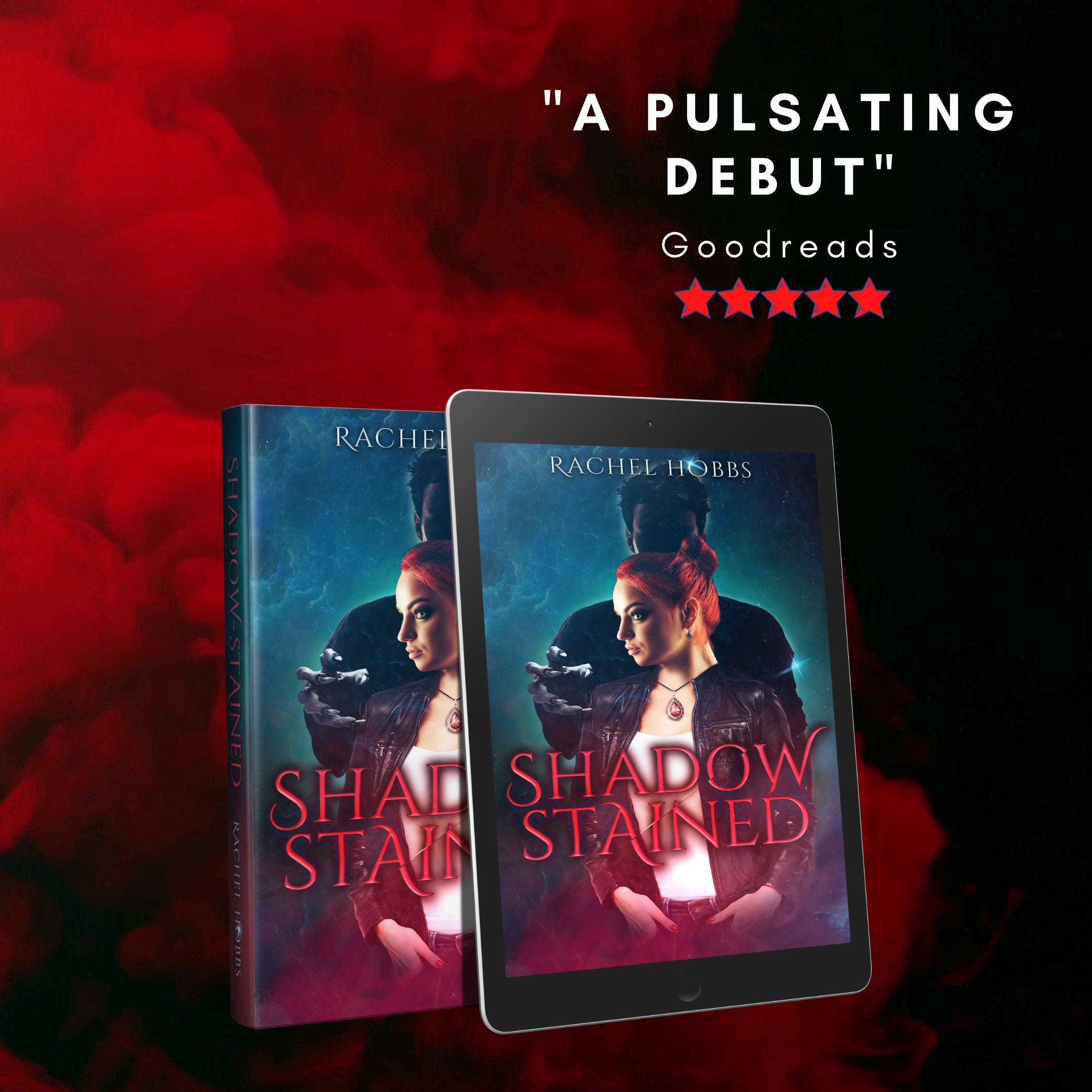 Red Pulsating Debut Promo copy